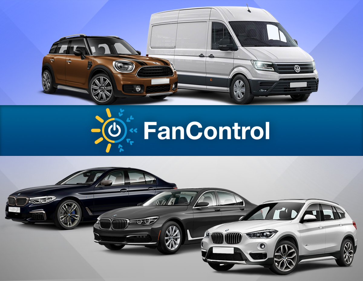 BMW, Mini, Volkswagen... и обновленный FanControl! фото